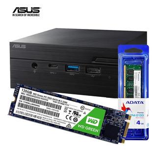Mini Pc Asus Barebone Pn40 Intel N400 4gb Ram Ssd 120gb Wifi