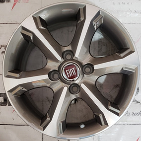 Jogo De Roda Aro 14 Fiat Strada Grafite 4x98 Frete Gratis