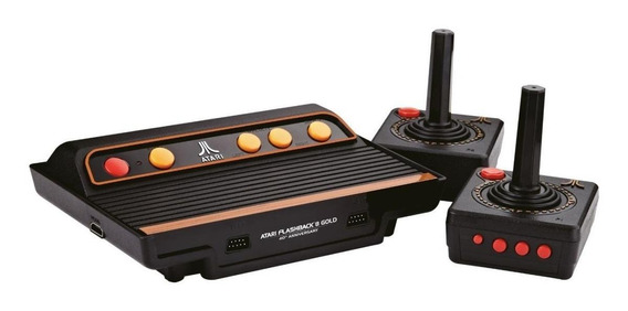 Console Tectoy Atari Flashback 9 Gold preto
