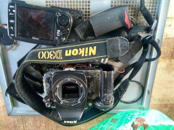 Nikon D 300 Sucata Vendas Em Pecas,pergunte Sobre O Valor