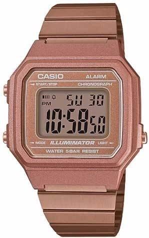 Relógio Casio Rosa B650wc 5adf Original Nfe + Garantia