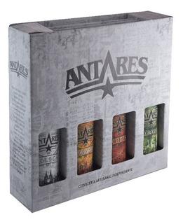 Cerveza Artesanal Antares Estuche X4 Regalo Pack A Elección