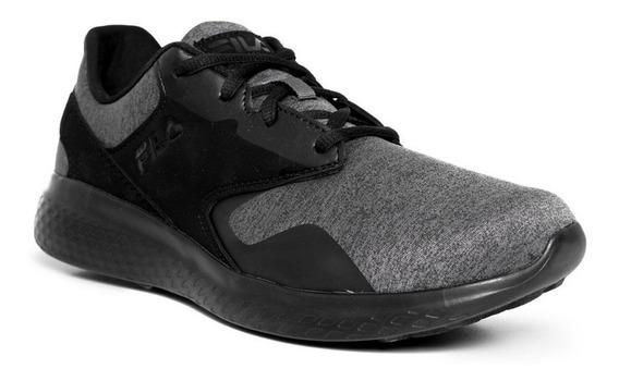 Tenis Fila Layers Peak Negro/gris Caballero 1cm00164 001