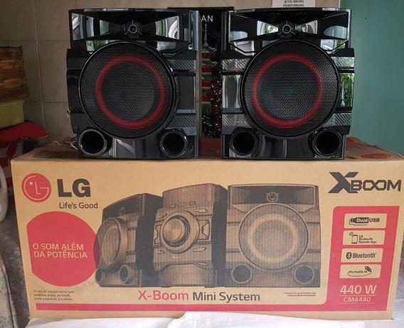 Caixa De Som Minisystem Lg Nova Original Cms4540f