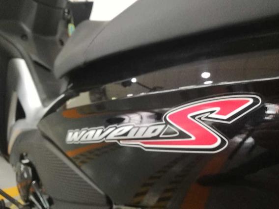 Honda Wave 110s, Negra, 2020