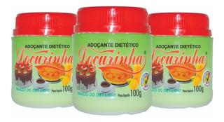 Adoçante Dietético Doçurinha 100g - 3 Unidades + Brinde