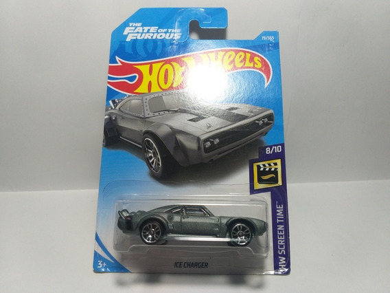 Ice Charger Hw Screen Time 2018 Hot Wheels 8/10 Escala 1/64
