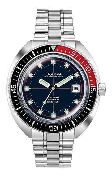 Reloj Bulova Oceanographer Devil Diver Hombre 98b320 E-watch