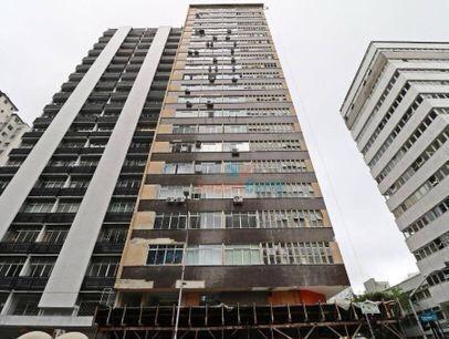 Imagem 1 de 18 de Sala Comercial Na Marechal Deodoro, 42 M² Por R$ 1.000/mês - Centro - Curitiba/pr - Cj0004