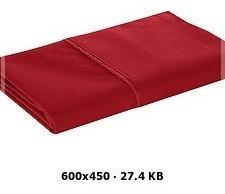 Funda De Almohada Estándar Rojo