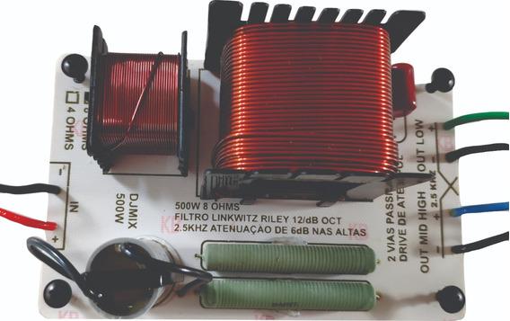 Kit (2) Unidades Divisor De Frequência 2 Vias Titânio 500w