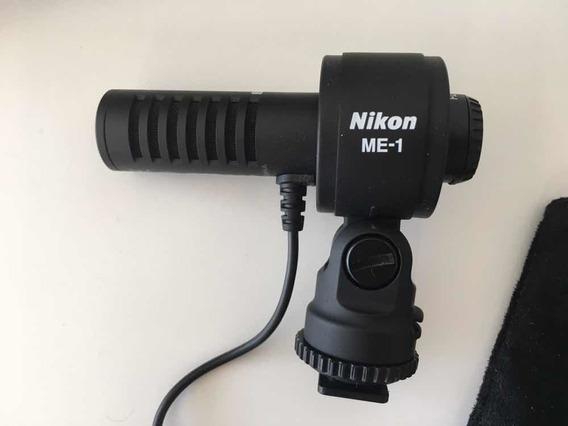 Microfone Estéreo Para Câmeras Digitais - Nikon Me-1