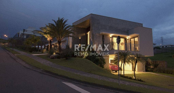 Casa Com 4 Dormitórios À Venda, 427 M² - Condomínio Campo De Toscana - Vinhedo/sp - Ca5988