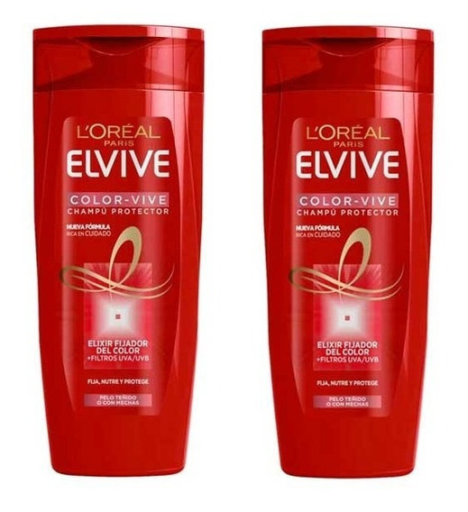 Shampoo + Condicionador Elseve Color-vive 400 Ml