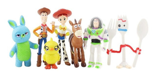 Toy Story 7 Figuras Forky, Woody, Buzz Etc