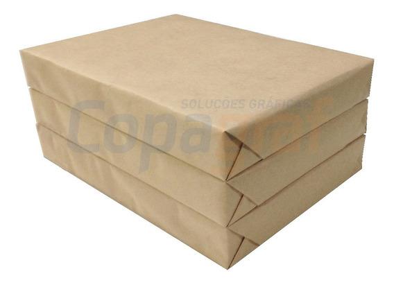 Papel Offset 120g Sulfite Branco Tam A4 Pcts C/500 Folhas