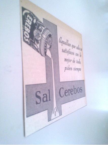 Sal Cerebos Cocina Argentina - Antiguas Publicidades 1930s