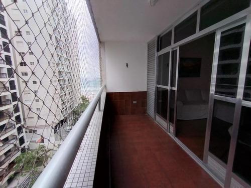 Apartamento Com 3 Dormitórios À Venda, 96 M² - Pitangueiras - Guarujá/sp - Ap11182