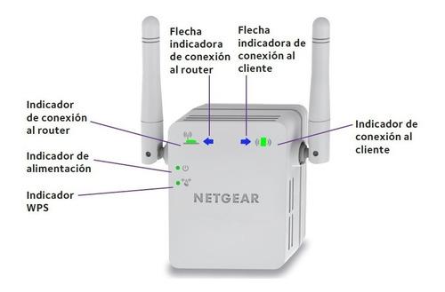 Extensor De Rango Wifi N300 Netgear Wn3000rpv3 (usado)