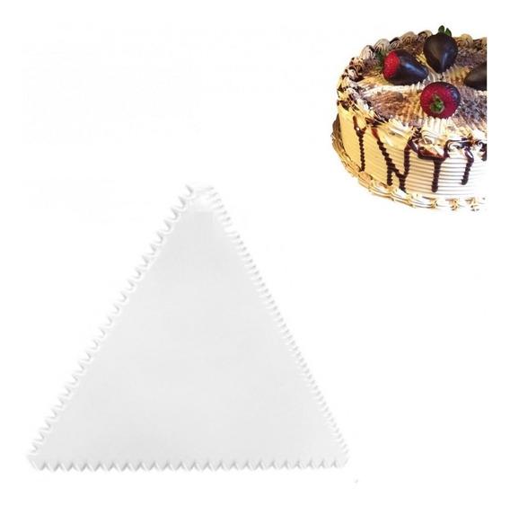 Espátula Triângulo P/ Decorar Massa, Pasta Americana E Bolo
