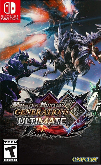 Monster Hunter Generations Ultimate Nintendo Switch Física