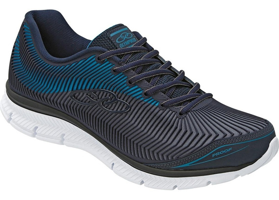 Tenis Olympikus Proof 233 Marinho/teal Blue