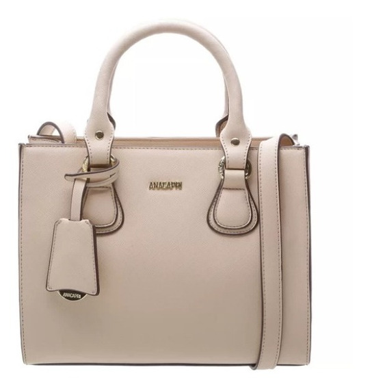 Bolsa Mini Tote Shopper Anacapri Na Cor New Nude - 50014