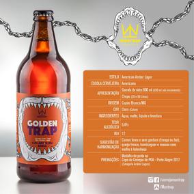 Kit Mantrap Com 6 Golden Trap 600ml