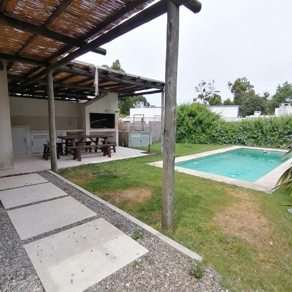 Casa En Alquiler Anual En Punta Del Este-ref:1438