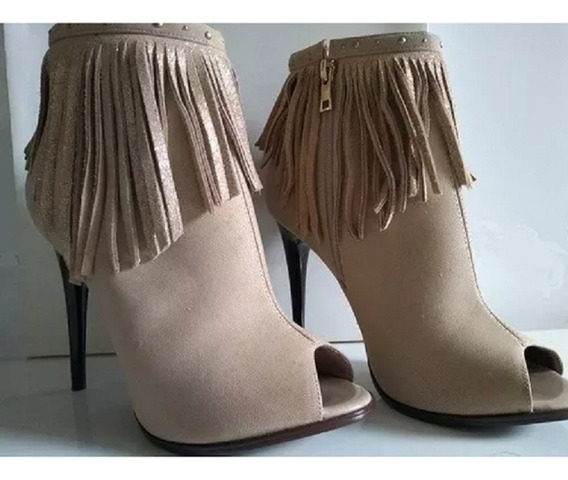 Ankle Boot Feminina Di Cristalli
