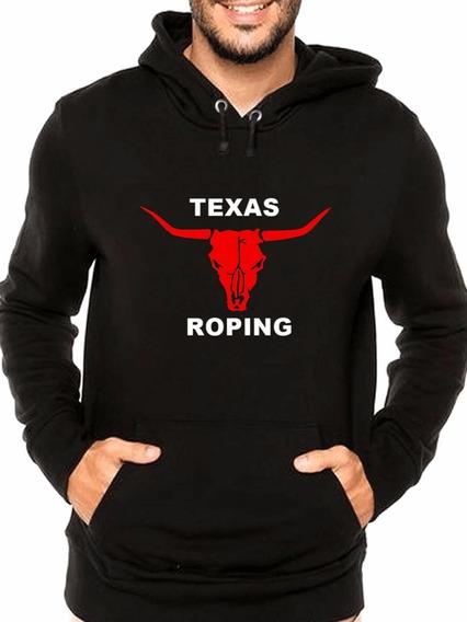 Blusa De Frio Casaco Moletom Texas Roping
