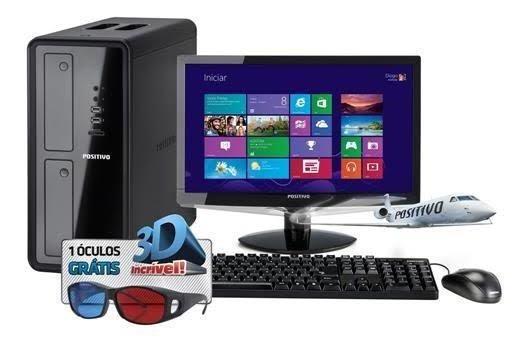 Computador Desktop Positivo 4gb De Memória 2gb De Ram