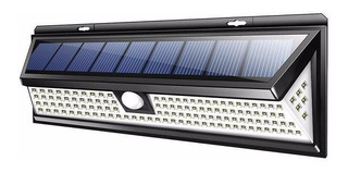Foco Solar 118 Exterior Tenue/sensor/luz Full Ml1181