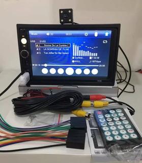 Reproductor Pantalla Tactil Vehiculos Con Camara Incluida