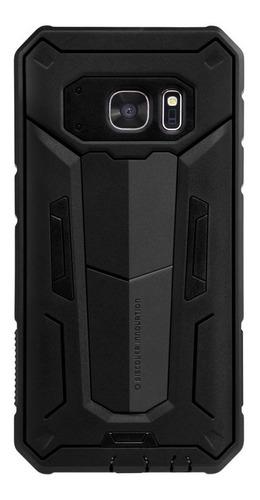 Imagen 1 de 7 de Carcasa Antigolpes Nillkin Defender Ii Samsung S7, Negro