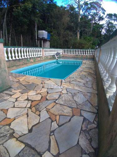 Juquitiba/chácara P/moradia C/piscina/ac Propostas/ref:05131