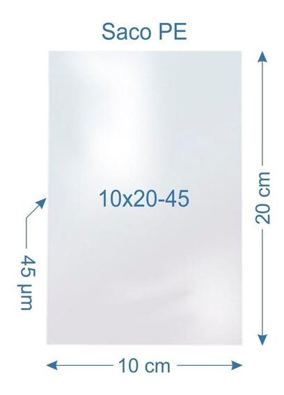 Saquinho Plástico 12x20-0045 Para Envio De Notas-1000 Un.