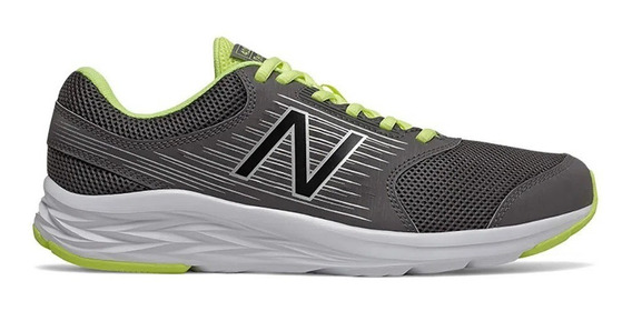 New Balance Zapatillas Running Hombre M411 Gris-verde
