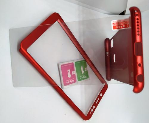 Carcasa Xiaomi Redmi Note 5 Forro Protector 3 En 1