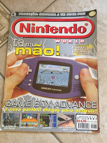 Revista Nintendo 32 Game Bot Advance Mario Party 3 Zelda