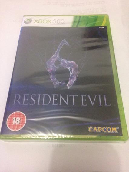 Resident Evil 6 Lacrado Jogo Original Para Xbox 360
