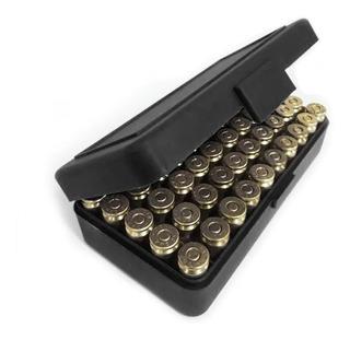 Caixa Estojo Porta Munição Bélica .40 7,65 9mm 380