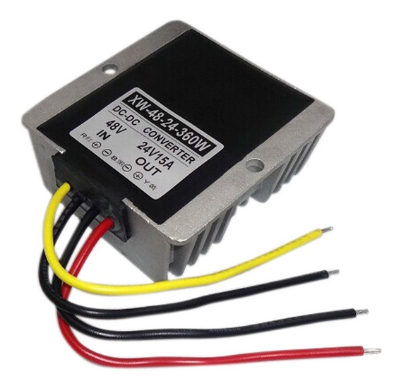 Inversor Conversor Transformador Entrada Dc 48v Tensão Larga 36v A 60v Saída Dc 24v 15a 360w