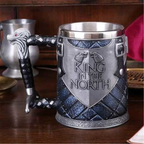Taza Tarro Stark King In The North Longclaw Game Of Thrones
