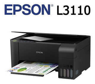 Impresora Multifuncional Epson L3110 Tinta Continua De Caja