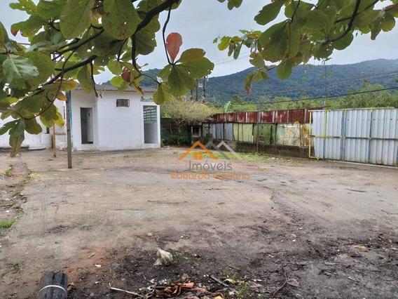 Ponto Comercial Com 800m² De Área Total Para Alugar Por R$ 2.500/mês - Tabatinga - Caraguatatuba/sp - Ga0008
