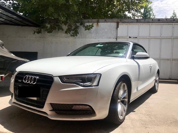 Audi A5 Cabrio 2.0 Blanco Precioso