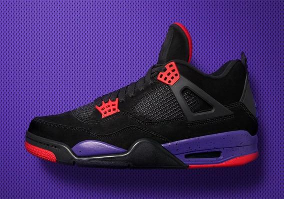 Nike Air Jordan 4 Retro Nrg Raptors Pe Mayma Sneakers