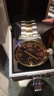 Reloj Tw Steel Nuevo En Caja Garantía Cuerda Sumergible 10at