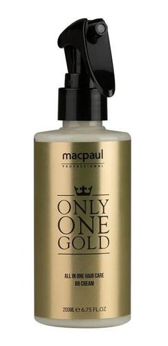 Imagem 1 de 6 de Reparador Absoluto Only One Gold 10 Em 1 Macpaul  200ml